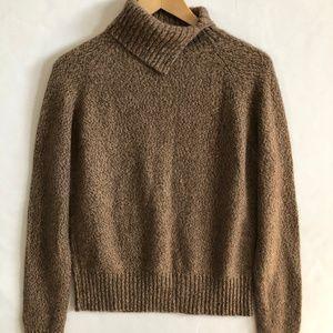 Glenshiel Cashmere Turtleneck Sweater L